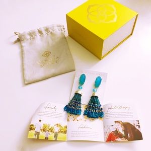 Dove Tassel Drop Earrings
